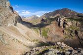 View from Djuku pass. Tien Shan, Kyrgyzstan — Stock Photo