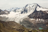 Glacier at Ala-Kul lake. Kyrgyzstan — Stock Photo
