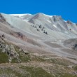 Landscape of weird tien Shan mountains — Stock Photo