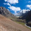 Scenery of ravine in Tien Shan mountains — Stock Photo