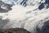 Glacier in Tien Shan Mountains — Foto Stock