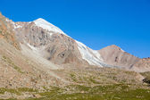 Mountain and small glacier. Tien Shan — Stock Photo