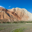 Panorama of eroded rocks in Kekemeren valley — Stock Photo