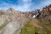 Rocks of Tien Shan mountains — Stock Photo