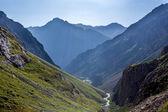 Mountains under sunlight — Stock fotografie