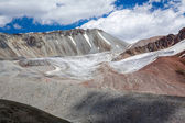 Landscape of glacier in Tien Shan Mountains — Stock Photo