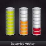 Batteries — Stock Vector #10244537