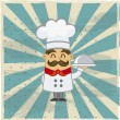 Stock Vector: Chef vector