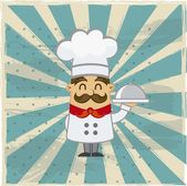 Chef vector — Stock Vector