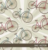 Bike background — Stock Vector