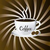 咖啡矢量 — 图库矢量图片