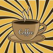 Kaffe — Stockvektor