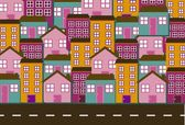 Houses vector — Stock Vector