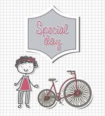 Special day — Stock Vector