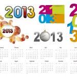 2013 calendar — Stock Vector #12559621