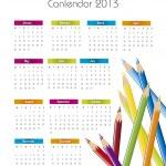 2013 calendar — Stock Vector #12559642