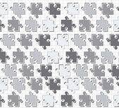 Puzzle vettoriale — Vettoriale Stock