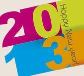 Feliz ano novo — Vetorial Stock