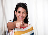 Pointing — Stock Photo