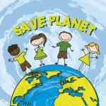 Постер, плакат: Save planet