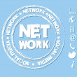 Stock Vector: Network