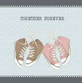 Together forever — Stock Vector