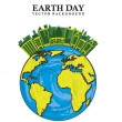 Stock Vector: Earth day