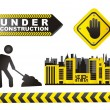 Stock Vector: under construction&quot
