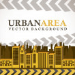 Urban area — Stock Vector