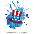 Stock Vector: Presidential election