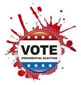 Vote background — Stock Vector