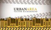 Urban area — Stock Vector