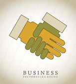 Hands business — Stock Vector