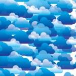 Blue Sky — Stock Vector