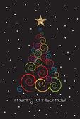 卡圣诞 — 图库矢量图片