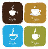 Coffe cups — Stock Vector