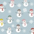 Snowman - Imagen vectorial