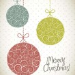 Royalty-Free Stock Obraz wektorowy: Christmas card