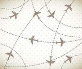 Airplane — Stock Vector