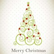 Merry christmas - Imagen vectorial