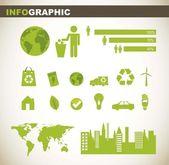 Info graphic — Stock Vector