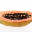 Half papaya — Stock Photo