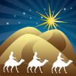 Stock Vector: Wise men
