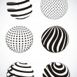 Royalty-Free Stock Vectorielle: Abstract sphere