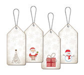 Christmas tags — Vector de stock