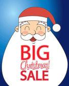 Boże Narodzenie sprzedaży — Wektor stockowy