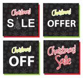 Christmas sales — Stock Vector