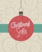 рождественских продаж — Cтоковый вектор