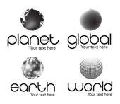 Planète — Vecteur
