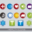 Royalty-Free Stock Vector Image: Health icons